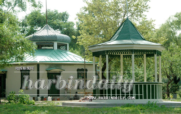 俄式豪华别墅外观图