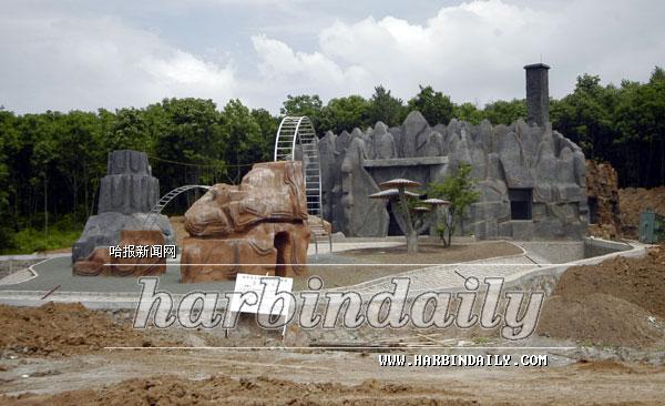 北方森林动物园建设基本完成(图)