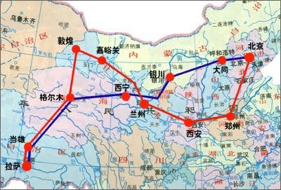 北京-西藏林芝路线自驾图示_之神旅游频道搜狐神灭3.0攻略图片