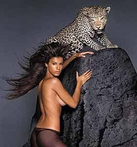 美女与野兽这个词眼的时候