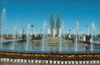 组图:秦皇岛经济技术开发区开放广场