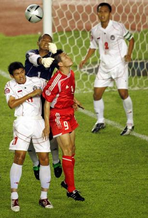 A组第二轮:中国对阵印度尼西亚