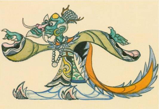 《大闹天宫》图集手绘版-龙王