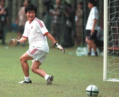 大胜印尼后出线形势明朗 国足训练哈哈笑成一片
