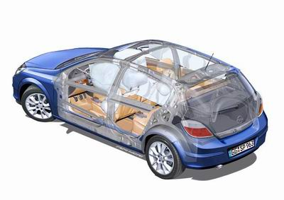 欧宝Astra荣获欧洲最安全轿车评选 多图高清图片