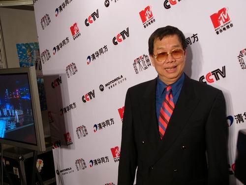 图文:第六届CCTV-MTV音乐颁奖盛典-采访图片(嘉宾2)