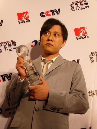 图文:第六届CCTV-MTV音乐颁奖盛典-采访图片(林夕4)