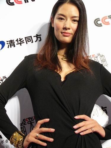 图文:第六届CCTV-MTV音乐颁奖盛典-采访图片(谢东娜3)