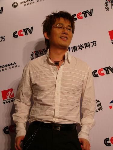 图文:第六届CCTV-MTV音乐颁奖盛典-采访图片(申晟勋6)