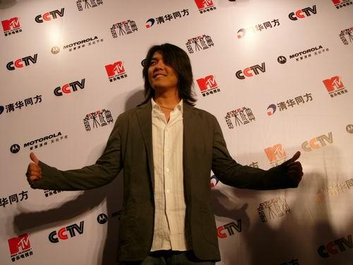 图文:第六届CCTV-MTV音乐颁奖盛典-采访图片(阿杜7)