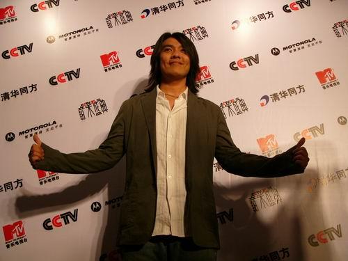 图文:第六届CCTV-MTV音乐颁奖盛典-采访图片(阿杜9)