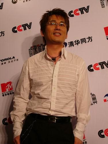 图文:第六届CCTV-MTV音乐颁奖盛典-采访图片(申晟勋5)