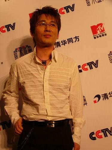 图文:第六届CCTV-MTV音乐颁奖盛典-采访图片(申晟勋3)
