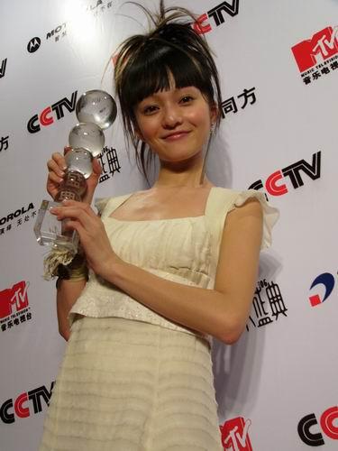 图文:第六届CCTV-MTV音乐颁奖盛典-采访图片(嘉宾21)