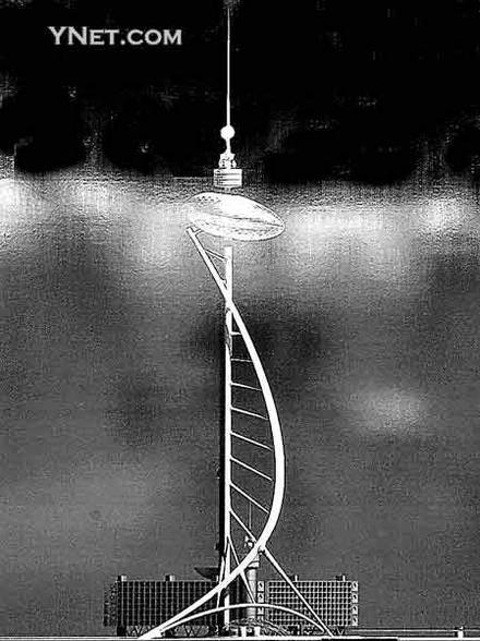 将矗立在珠江新城的广州新电视塔究竟会是什么模样