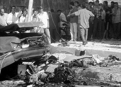 伊拉克发生自杀式汽车炸弹爆炸 68人丧生(图)