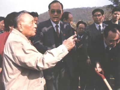 1992年1月邓小平视察广东深圳