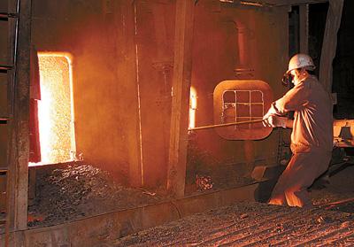 炼钢工人图片_炼钢工人姚北人家