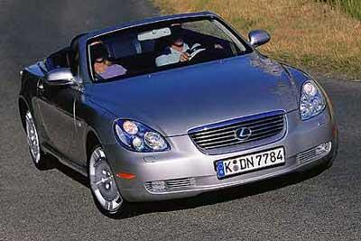 ...SC430   也是较早引入硬顶敞篷的,Lexus   凌志   高档车里...