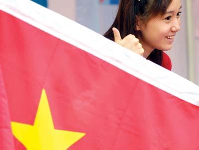 五星红旗,你是我的骄傲(组图)