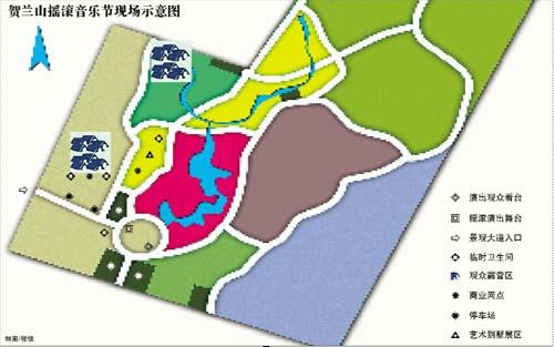 北京手绘地图卡通版