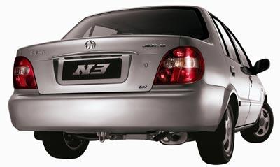新夏利定名N3 搭载3款发动机8日上市(图)