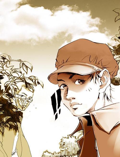 图:宋洋漫画作品《动物凶猛》彩图-回望