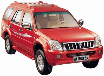 SUV又一款新品种 长城赛骏即将上市(图)