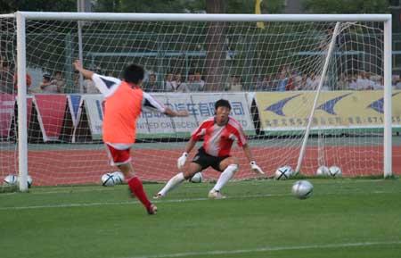 图文:国足备战亚洲杯决赛为决赛