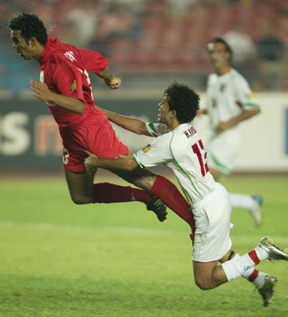 图文:伊朗两球胜巴林 我也不会让你前进