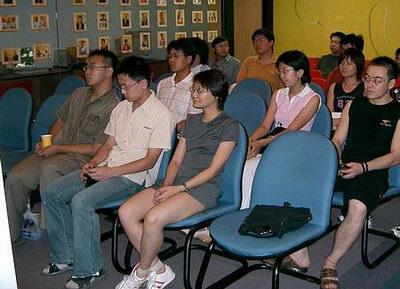 企业调查百期网友见面会:网友聆听