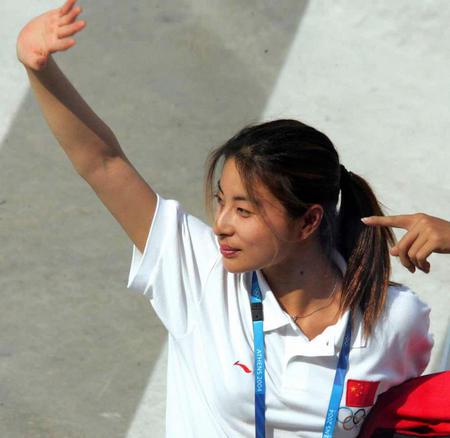 [奥运](2)中国运动员抵达雅典
