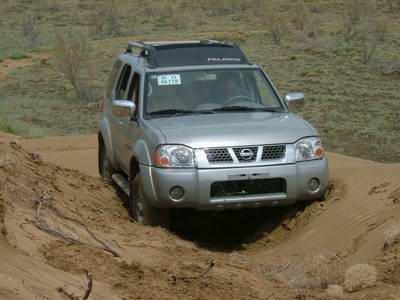 2005年第27届达喀尔拉力赛郑州日产帕拉丁车手新疆区域选拔活动即将
