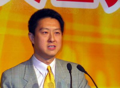 搜狐公司总裁兼首席运营官古永锵祝福中国奥运健儿