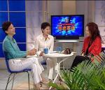 图文:做客新闻会客厅 三女士共话奥运