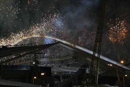 图文:奥运会开幕式 火树银花不夜天(13)