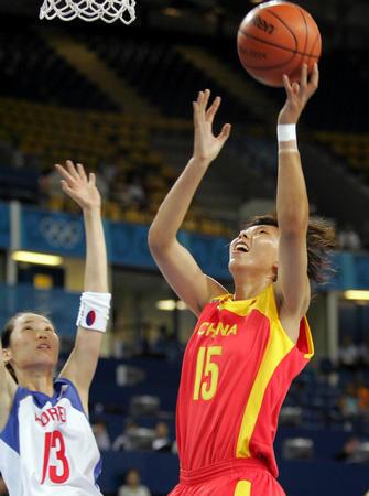 图文:奥运会女子篮球B组开战