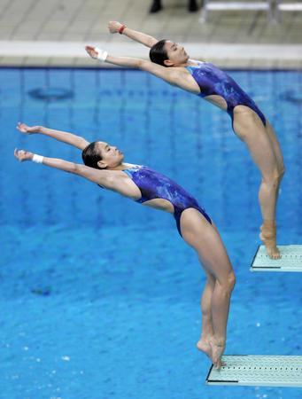 女子双人跳板冠军