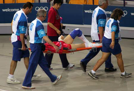 图文:奥运会女排小组赛