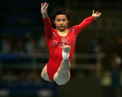 图文:奥运会女子体操预赛