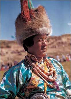安多藏族服饰[组图]