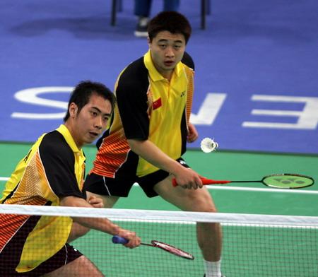 桑洋 郑波击败马来西亚选手晋级8强