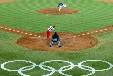 [奥运](4)棒球�D�D古巴队战胜希腊队~~8月16日,古巴