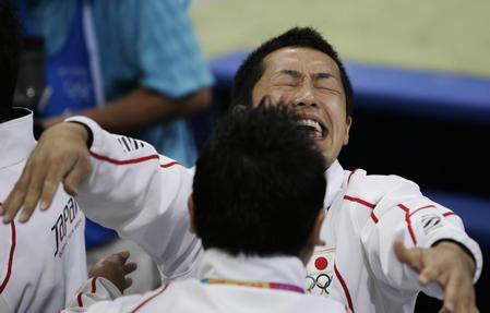 图文:男子体操团体决赛