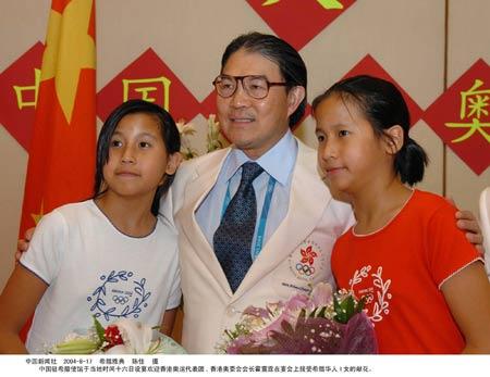 图文:中国驻希腊使馆欢迎香港代表团