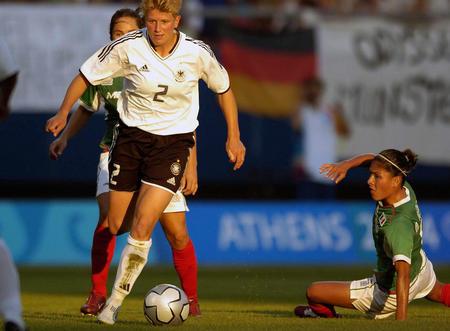 [奥运](8)足球�D�D德国对阵墨西哥~~8月17日,德国女