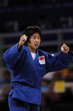 [奥运](1)柔道�D�D秦东亚夺得柔道女子70公斤级铜牌
