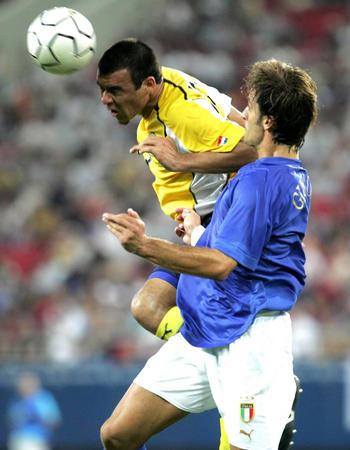 图文:巴拉圭击败意大利(3)