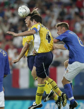 图文:巴拉圭击败意大利(2)