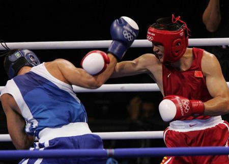 图文:拳击男子81公斤级